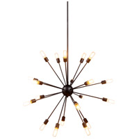 Urban Classic by Elegant Lighting Cork 20 Light Pendant in Vintage Steel 1134G40VS