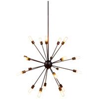 Elegant Lighting 1134G40VS Cork 20 Light 41 inch Vintage Steel Pendant Ceiling Light Urban Classic