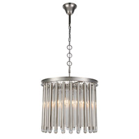 Elegant Lighting 1140D20PN Maxwell 4 Light 20 inch Polished Nickel Chandelier Ceiling Light Urban Classic