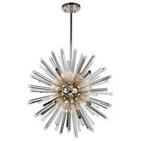 Elegant Lighting 1141G36PN Maxwell 21 Light 36 inch Polished Nickel Chandelier Ceiling Light, Urban Classic