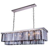 Urban Classic by Elegant Lighting Sydney 12 Light Pendant in Polished Nickel with Royal Cut Silver Shade Crystal 1202D50PN-SS/RC