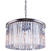 Sydney 8 Light 26 inch Polished Nickel Pendant Ceiling Light in Clear