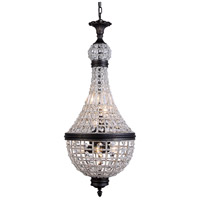 Elegant Lighting 1209D13DB/RC Stella 6 Light 14 inch Dark Bronze Pendant Ceiling Light Urban Classic