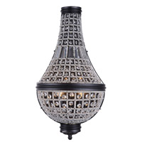 Elegant Lighting 1209W13DB/RC Stella 3 Light 14 inch Dark Bronze Wall Sconce Wall Light Urban Classic