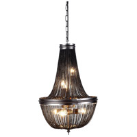 Paloma 6 Light 14 inch Dark Grey Foyer Ceiling Light