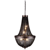 Paloma 6 Light 17 inch Dark Grey Foyer Ceiling Light