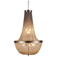Paloma 6 Light 21 inch Pewter Foyer Ceiling Light, Urban Classic