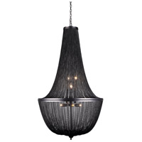 Paloma 10 Light 30 inch Dark Grey Foyer Ceiling Light, Urban Classic