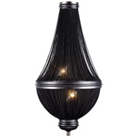Paloma 3 Light 14 inch Dark Grey Wall Sconce Wall Light