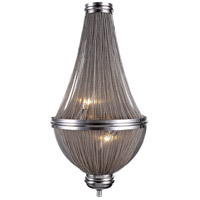 Paloma 3 Light 14 inch Pewter Wall Sconce Wall Light