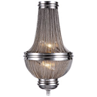 Paloma 2 Light 10 inch Pewter Wall Sconce Wall Light, Urban Classic