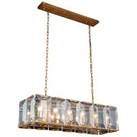 Elegant Lighting 1212D40GI Monaco 12 Light 13 inch Golden Iron Pendant Ceiling Light Urban Classic