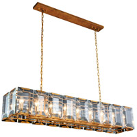 Elegant Lighting 1212D60GI Monaco 18 Light 13 inch Golden Iron Pendant Ceiling Light Urban Classic