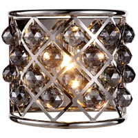 Urban Classic by Elegant Lighting Madison 1 Light Wall Sconce in Polished Nickel with Royal Cut Silver Shade Crystal 1214W11PN-SS/RC