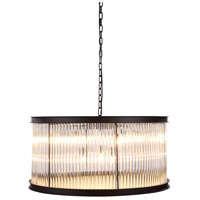Royale 9 Light 32 inch Mocha Brown Pendant Ceiling Light, Urban Classic