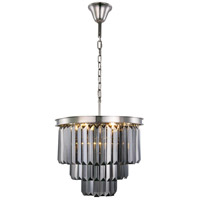 Sydney 9 Light 20 inch Polished Nickel Chandelier Ceiling Light, Urban Classic