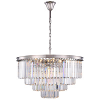 Sydney 17 Light 32 inch Polished Nickel Chandelier Ceiling Light, Urban Classic
