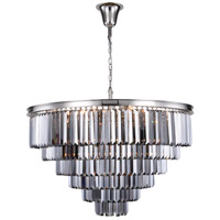 Sydney 33 Light 44 inch Polished Nickel Chandelier Ceiling Light, Urban Classic