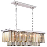 Sydney 12 Light 14 inch Polished Nickel Chandelier Ceiling Light, Urban Classic
