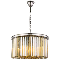Sydney 8 Light 26 inch Polished Nickel Chandelier Ceiling Light, Urban Classic