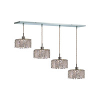 Elegant Lighting Mini 4 Light Pendant in Chrome with Royal Cut Clear Crystal 1284D-O-R-CL/RC alternative photo thumbnail