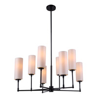 Urban Classic by Elegant Lighting Richmond 8 Light Pendant in Bronze 1410G34BZ - Open Box
