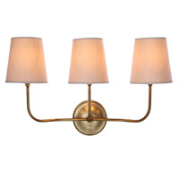 Urban Classic by Elegant Lighting Lancaster 3 Light Wall Sconce in Antique Bronze 1411W22BB - Open Box