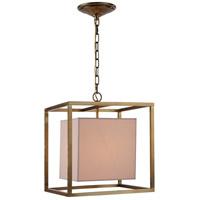 Urban Classic by Elegant Lighting Quincy 1 Light Pendant in Bronze 1416D16BB