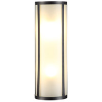 Urban Classic by Elegant Lighting Sierra 2 Light Wall Sconce in Bronze 1427W5BZ