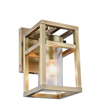Bianca 1 Light 5 inch Burnished Brass Wall Sconce Wall Light, Urban Classic
