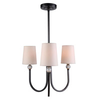Toscana 3 Light 20 inch Bronze Pendant Ceiling Light