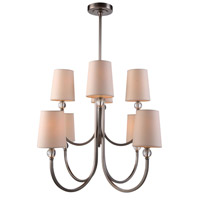 Urban Classic by Elegant Lighting Toscana 8 Light Pendant in Vintage Nickel 1444D28VN