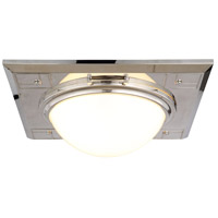 Cilla 3 Light 17 inch Polished Nickel Flush Mount Ceiling Light, Urban Classic