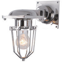 Kingston 1 Light 9 inch Chrome Wall Sconce Wall Light