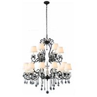 Elegant Lighting 1471G39VB Diana 18 Light 39 inch Vintage Bronze Chandelier Ceiling Light Urban Classic