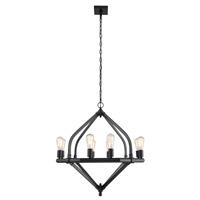 Elegant Lighting 1472D31BZ Illumina 8 Light 32 inch Bronze Pendant Ceiling Light, Urban Classic