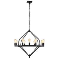 Elegant Lighting 1472G39BZ Illumina 12 Light 39 inch Bronze Pendant Ceiling Light, Urban Classic