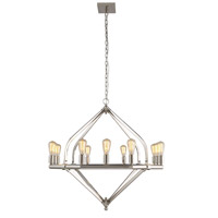 Urban Classic by Elegant Lighting Illumina 12 Light Pendant in Polished Nickel 1472G39PN