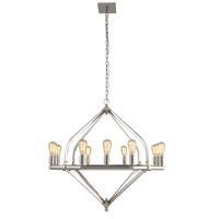 Elegant Lighting 1472G39PN Illumina 12 Light 39 inch Polished Nickel Pendant Ceiling Light Urban Classic