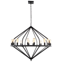 Urban Classic by Elegant Lighting Illumina 16 Light Pendant in Bronze 1472G52BZ