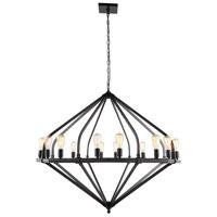 Elegant Lighting 1472G52BZ Illumina 16 Light 52 inch Bronze Pendant Ceiling Light Urban Classic