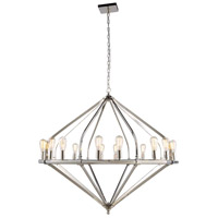 Urban Classic by Elegant Lighting Illumina 16 Light Pendant in Polished Nickel 1472G52PN