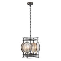 Elegant Lighting 1490D15BZ Twilight 4 Light 15 inch Bronze Pendant Ceiling Light Urban Classic