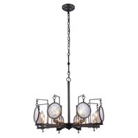 Elegant Lighting 1490D28BZ Twilight 8 Light 28 inch Bronze Pendant Ceiling Light Urban Classic