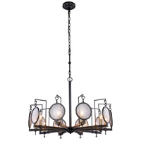 Elegant Lighting 1490D32BZ Twilight 10 Light 32 inch Bronze Pendant Ceiling Light Urban Classic