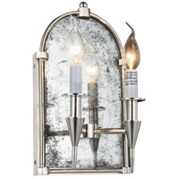 Elegant Lighting 1491W8PN Bavaria 2 Light 8 inch Polished Nickel Wall Sconce Wall Light Urban Classic