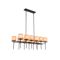 Elegant Lighting 1504G47BZ Bradford 12 Light 23 inch Bronze Pendant Ceiling Light Urban Classic