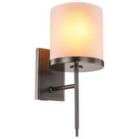 Urban Classic by Elegant Lighting Bradford 1 Light Wall Sconce in Bronze 1504W6BZ