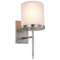 Urban Classic by Elegant Lighting Bradford 1 Light Wall Sconce in Vintage Nickel 1504W6VN