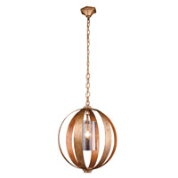 Urban Classic by Elegant Lighting Serenity 1 Light Pendant in Golden Iron 1508D21GI